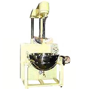Cooking Mixer - Automatic Lifting steam cooking mixer