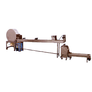 Spring Roll Skin Production Machine - Single Heated Drum ψ 120cm Maxi. Capacity 30x30cm 2700pcs/hr